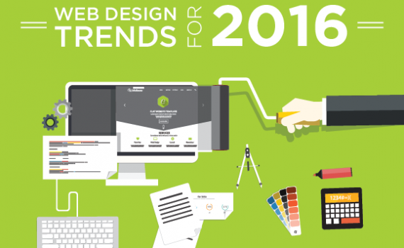 2016 web design trends